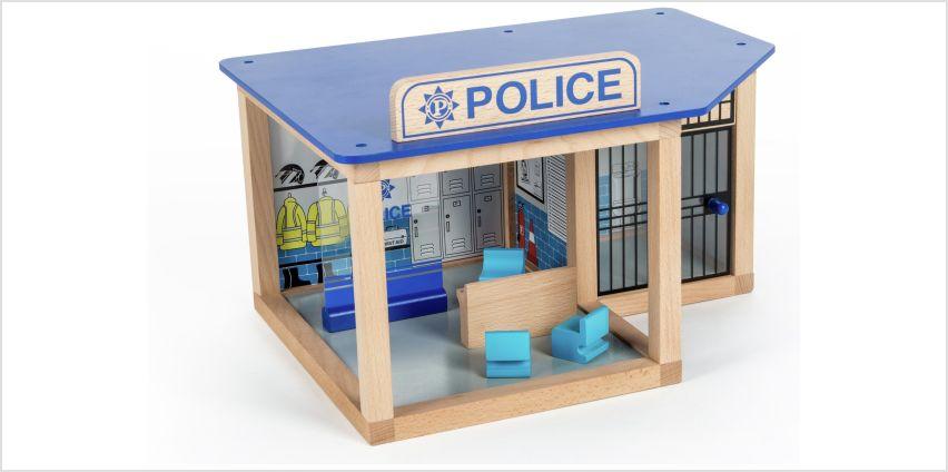Tidlo Police Station Playset. from Argos