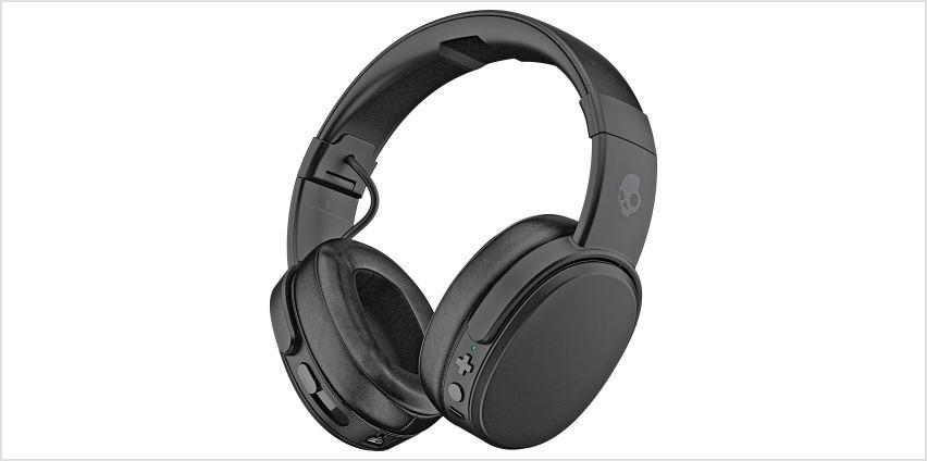 Skullcandy Crusher Wireless Over-Ear Headphones - Black from Argos