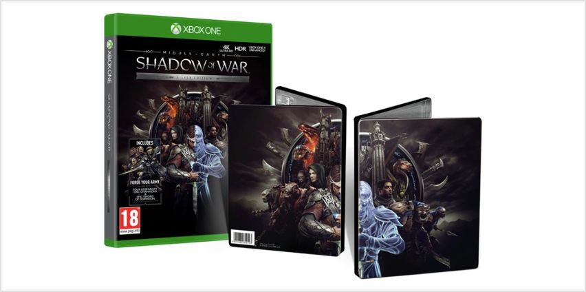Shadow of War Silver Edition Xbox One Game from Argos