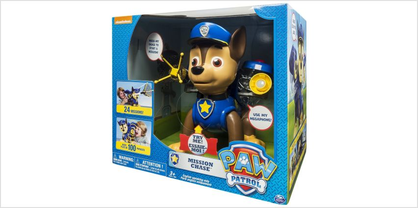 PAW Patrol Mission Chase from Argos