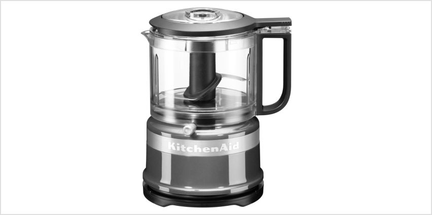 KitchenAid Mini Food Processor - Contour Silver from Argos