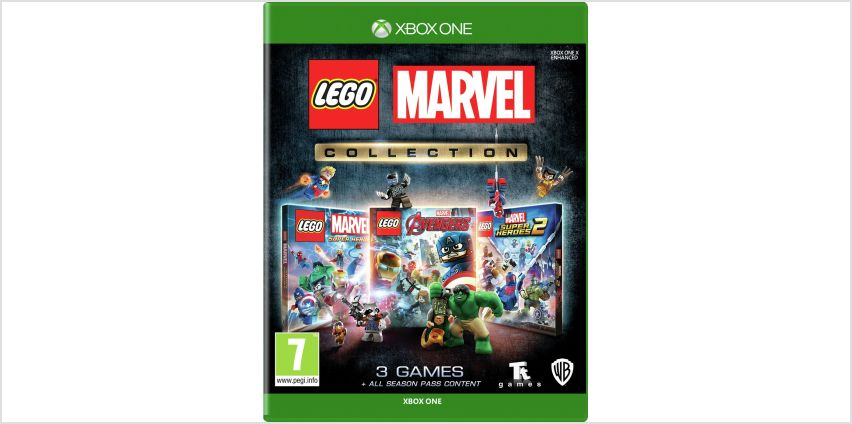 LEGO Marvel Collection Xbox One Game Bundle from Argos