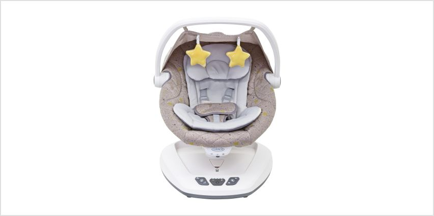 Graco Move with Me Soother Stargazer Swing from Argos
