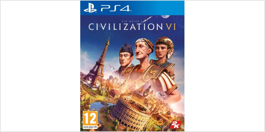 Civilization VI PS4 Game from Argos