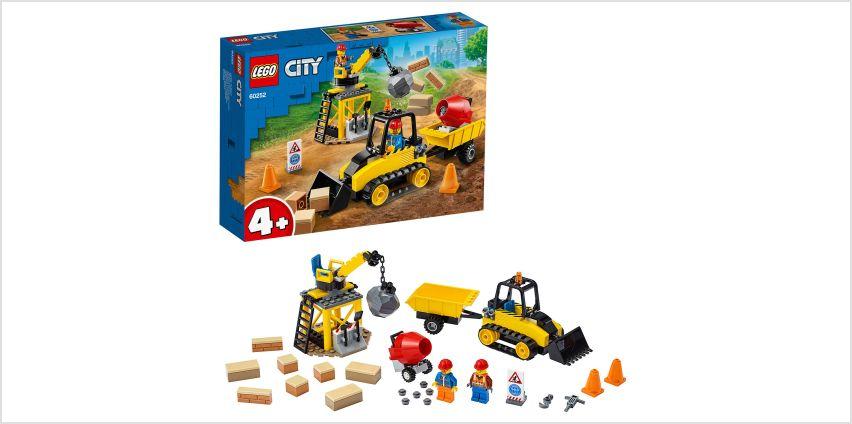 LEGO City Great Vehicles Construction Bulldozer Set - 60252 from Argos