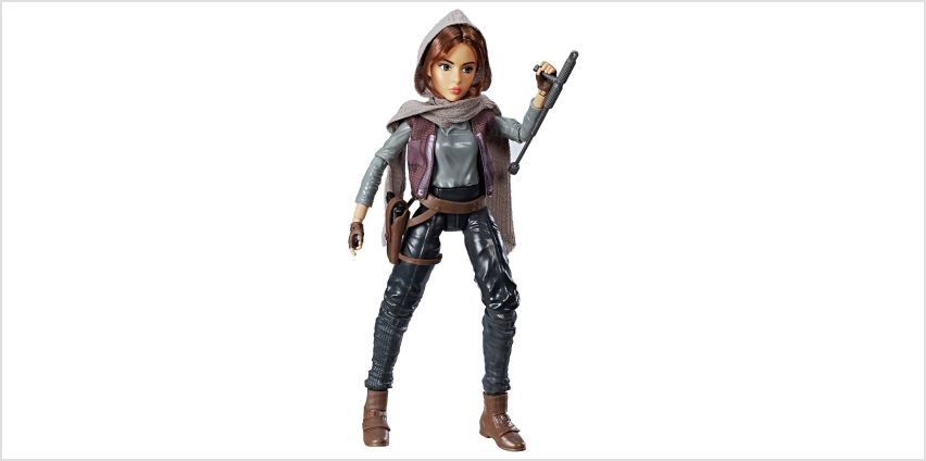 Star Wars Forces of Destiny Jyn Erso Adventure Figure from Argos