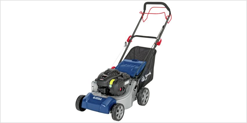 Spear & Jackson 41cm Self Propelled Petrol Lawnmower - 125cc from Argos