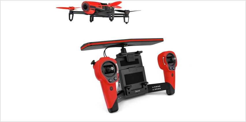 Parrot Bebop Drone with Skycontroller - Assorted Colours from Argos