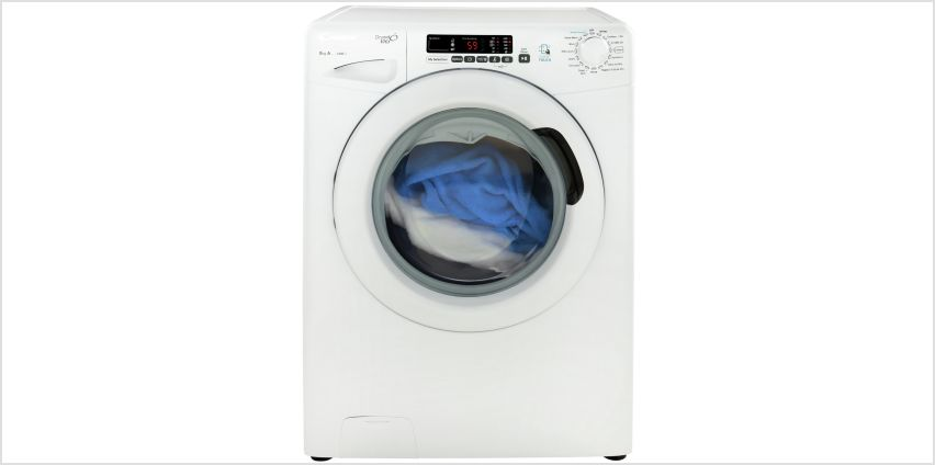 Candy GVS148D3 8KG 1400 Spin Washing Machine - White from Argos