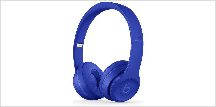 Beats by Dre Solo 3 Wireless On-Ear Headphones- Break Blue from Argos