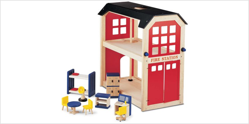 Pintoy Fire Station Playset. from Argos