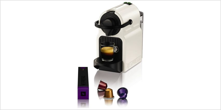 Nespresso XN100140 Inissia Coffee Machine - White from Argos