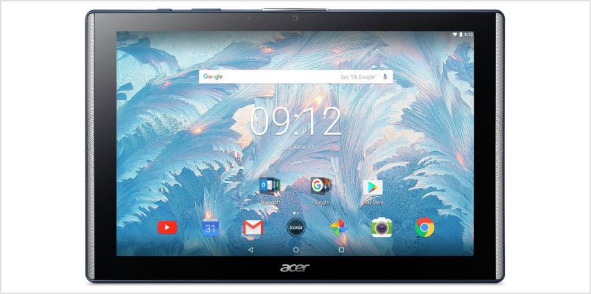 Acer Iconia One10 16GB Tablet -  Blue from Argos