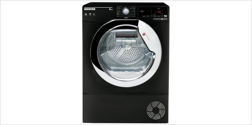 Hoover DXC 8TCEB 8KG Condenser Tumble Dryer - Black from Argos