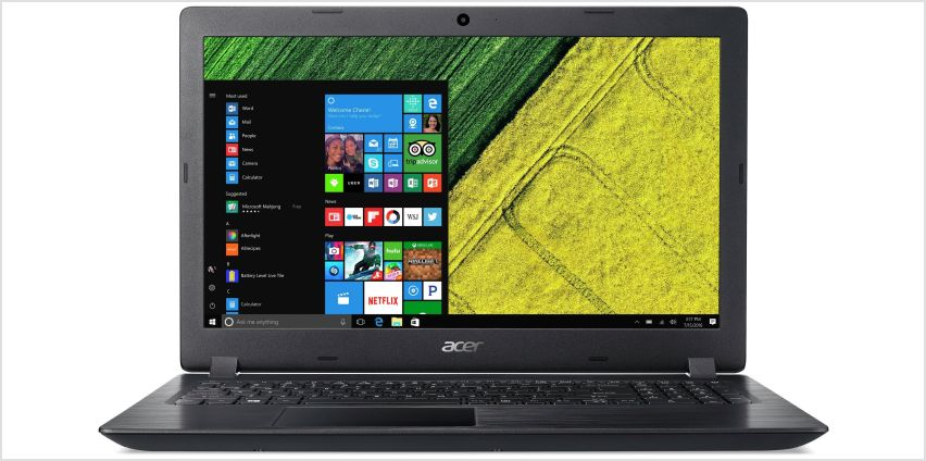 Acer 15.6 Inch i3 8GB 1TB Laptop - Black from Argos