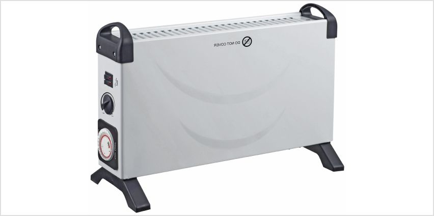 Challenge 2kW Convector Heater with Timer from Argos