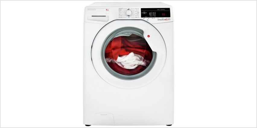Hoover DXOA 68LW3 8KG 1600 Spin Washing Machine - White from Argos