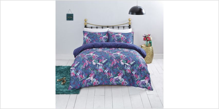 Sainsbury's Home Floral Butterfly Bedding Set - Single from Argos