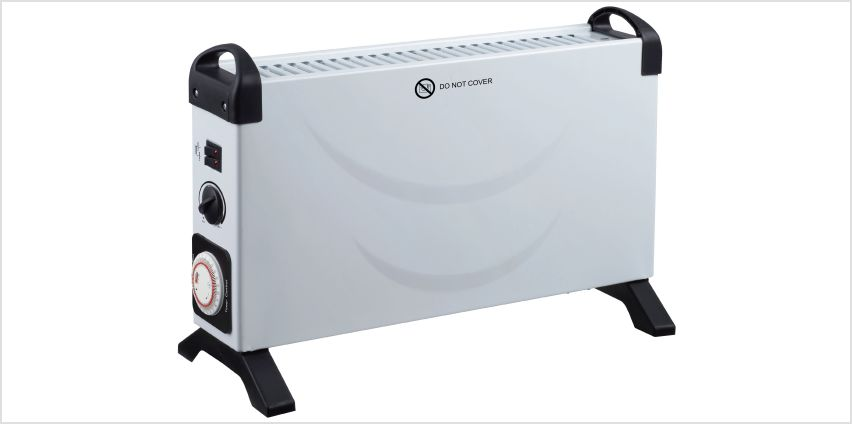 Challenge 3kW Convector Turbo Heater with Timer from Argos