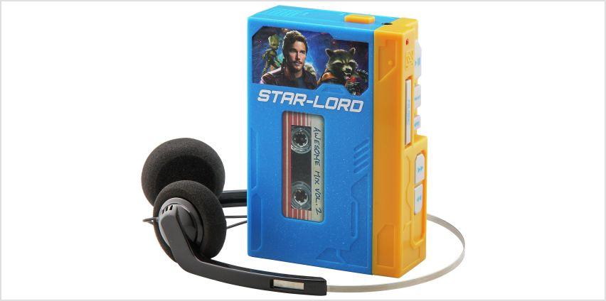 Guardians of Galaxy Retro MP3 Walkman. from Argos