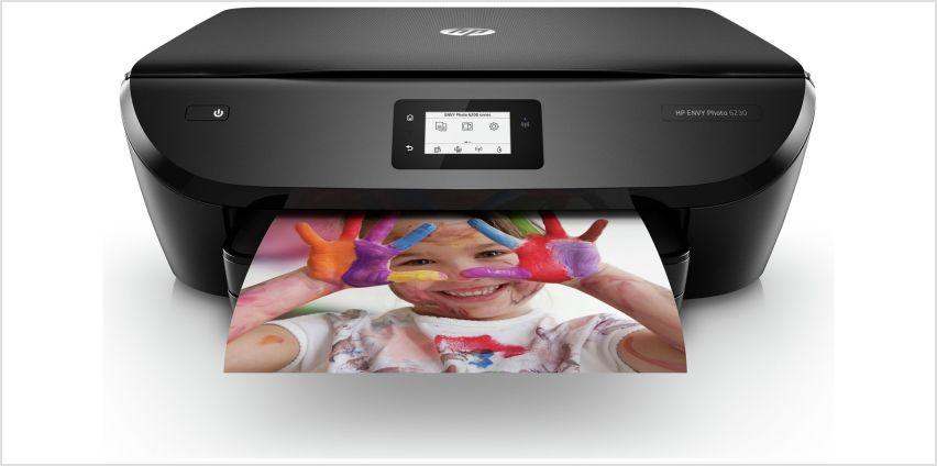 HP Envy 6230 Wireless Photo Printer & 4 Months Instant Ink from Argos