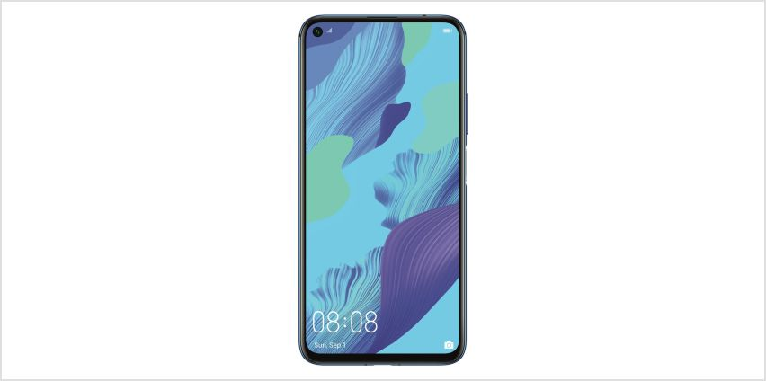 SIM Free Huawei Nova 5T 128GB Mobile Phone - Blue from Argos