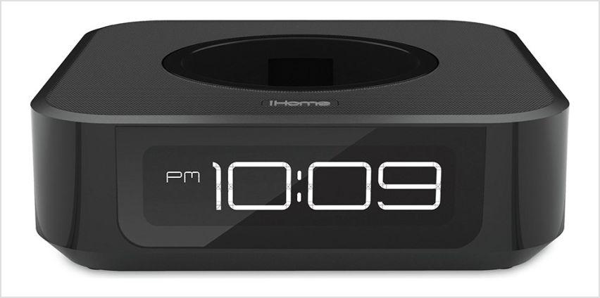 iHome Clock Speaker for Amazon Echo Dot from Argos