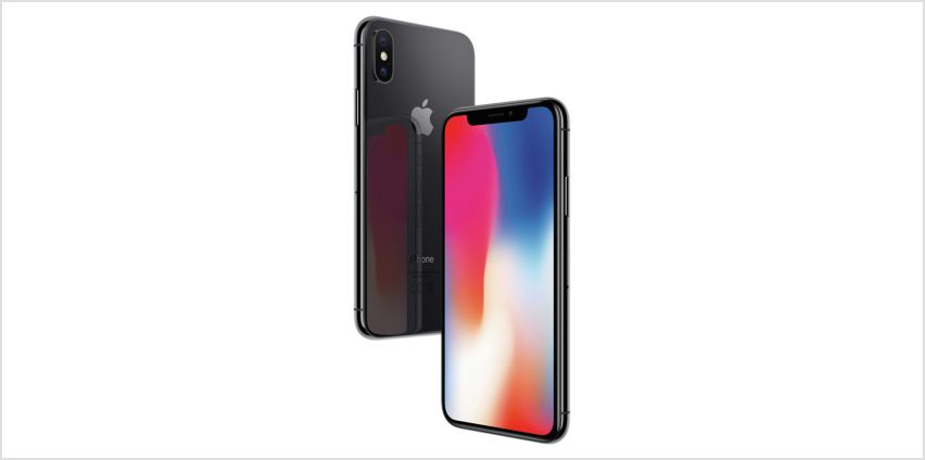 SIM Free iPhone X 256GB Mobile Phone- Space Grey from Argos