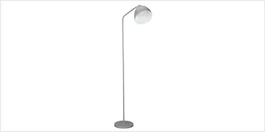Argos Home Morlie Floor Lamp - Matt Grey from Argos