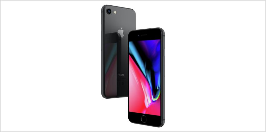 SIM Free iPhone 8 64GB Mobile Phone - Space Grey from Argos