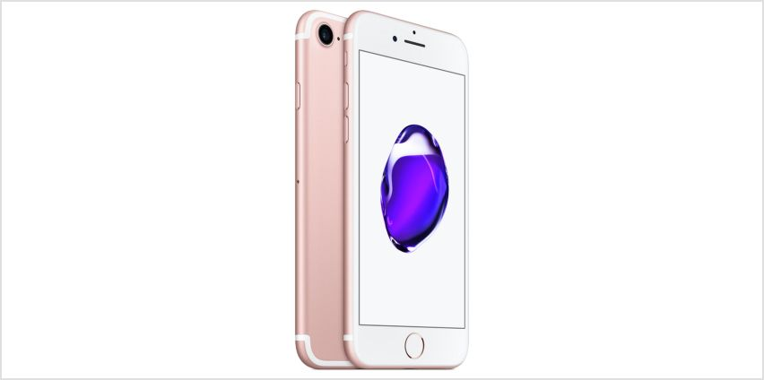 Sim Free iPhone 7 32GB Premium Pre-Owned Mobile Phone- Rgold from Argos