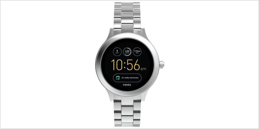 Fossil Venture Gen 3 Smart Watch - Silver from Argos