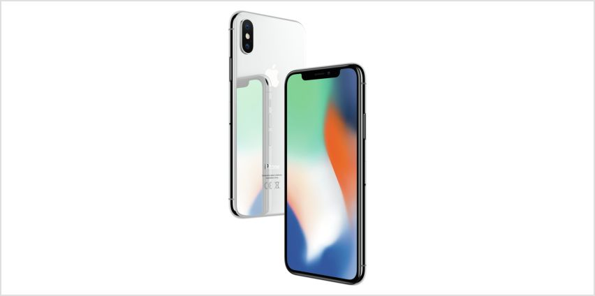 SIM Free iPhone X 256GB Mobile Phone - Silver from Argos