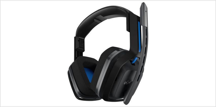 Astro A20 Wireless PS4 Headset - Black & Blue from Argos