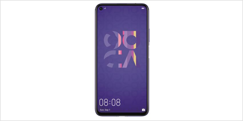 SIM Free Huawei Nova 5T 128GB Mobile Phone - Purple from Argos