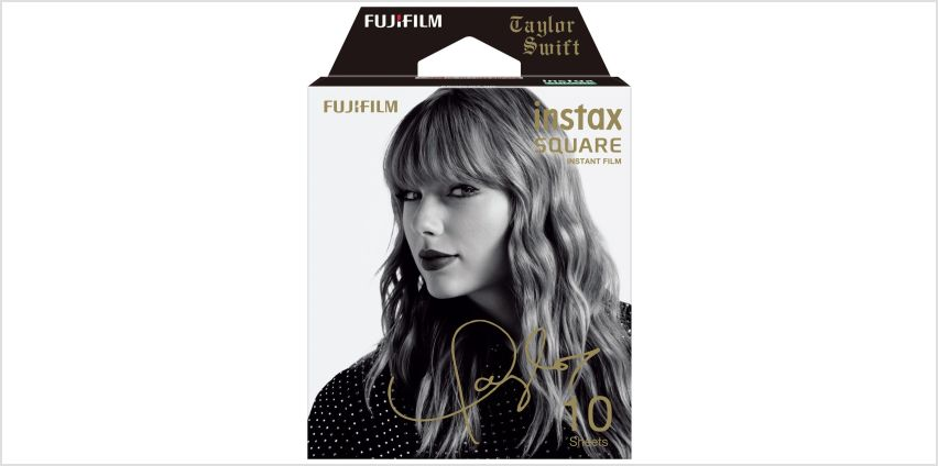 Instax Taylor Swift Pack Square Film from Argos