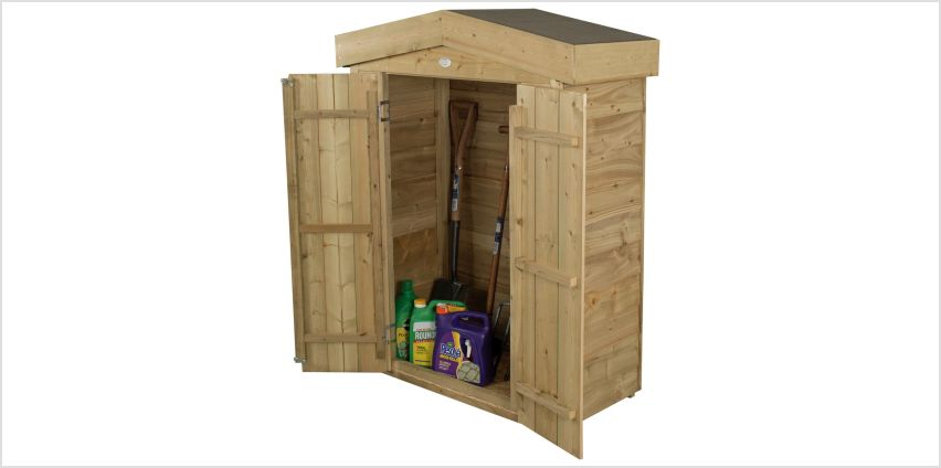 Forest Apex Garden Store - 600 Litre from Argos