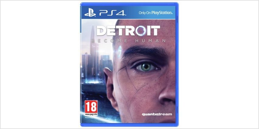 Detroit: Become Human PS4 Game from Argos