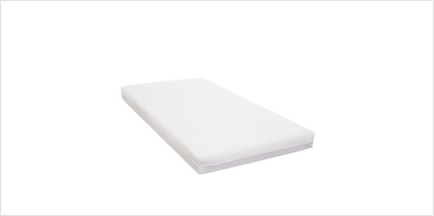 Obaby 140 x 70cm Breathable Dual Core Cot Bed Mattress  from Argos