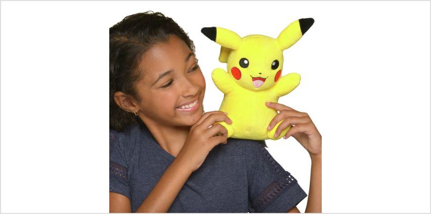 Pokemon 8inch Soft Toy Pikachu from Argos