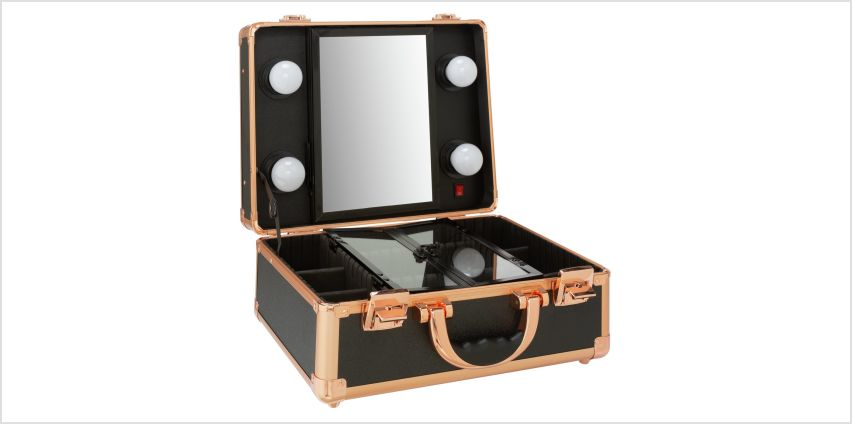 Hollywood Glamour Portable Beauty Station from Argos