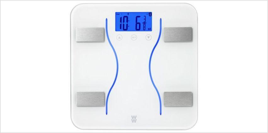 Weight Watchers Bluetooth Digital Body Analyser Scale from Argos