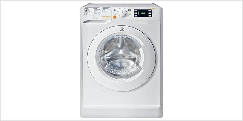 Indesit XWDE861680X 8KG / 6KG 1400 Spin Washer Dryer - White from Argos
