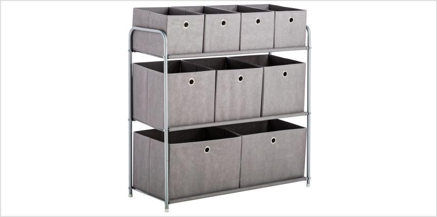 Argos Home 9 Box Storage Unit from Argos