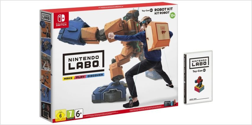 Nintendo Labo Toy-Con 02: Robot Kit from Argos