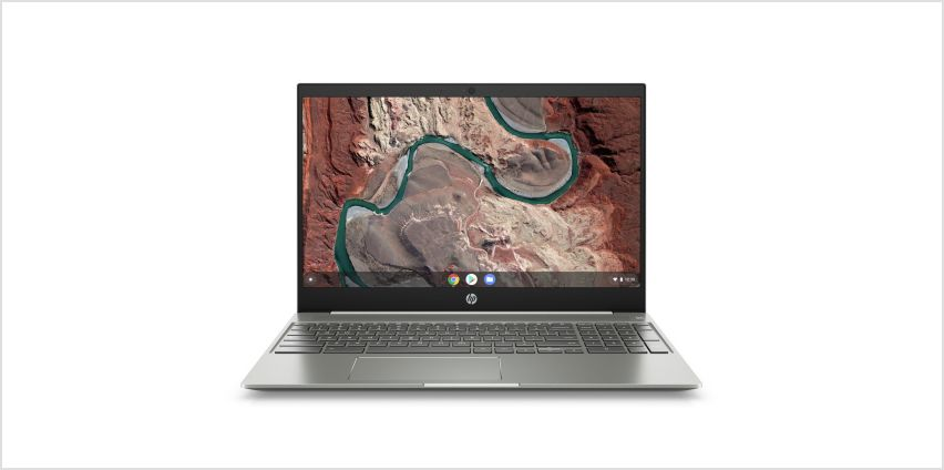 HP 15.6in i3 8GB 128GB FHD Chromebook - White from Argos