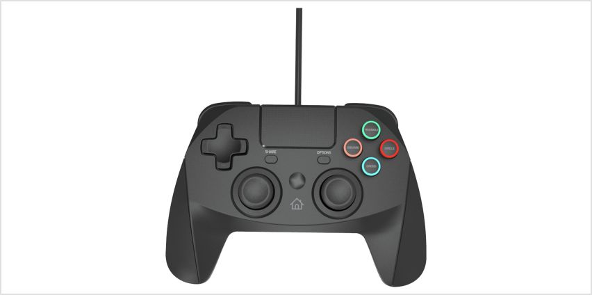 Snakebyte Game:Pad PS4 Wired Controller - Black from Argos