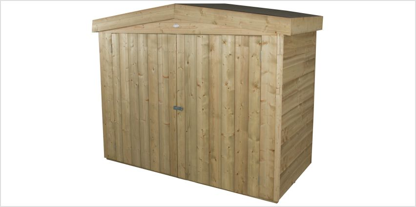 Forest Apex Large Outdoor Store - 2000 Litre from Argos
