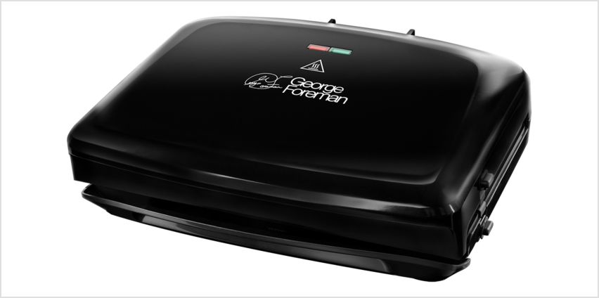 George Foreman Medium Removable Plates Grill 24330 from Argos