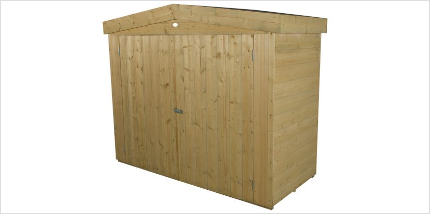 Forest Shiplap Apex Large Outdoor Store - 2000 Litre from Argos